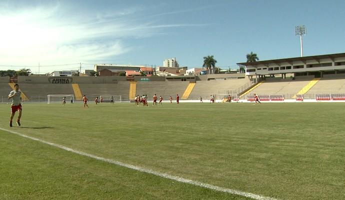 Arena Capivari recebe a primeira partida do time da cidade em uma competição nacional (Foto: Carlos Velardi / EPTV)
