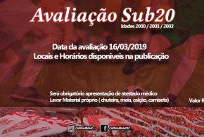 Avaliação no Leão  – Capivariano avalia jogadores para SUB-20
